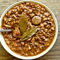 Instant Pot Bean and Sausage Soup