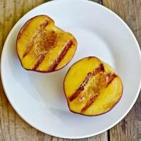 Grilled Fresh Peaches Recipe