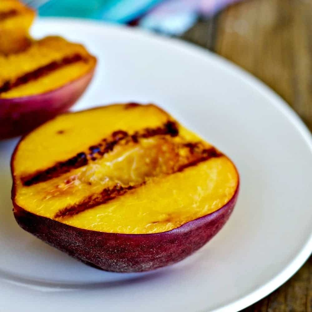 Grilled Fresh Peaches Recipe