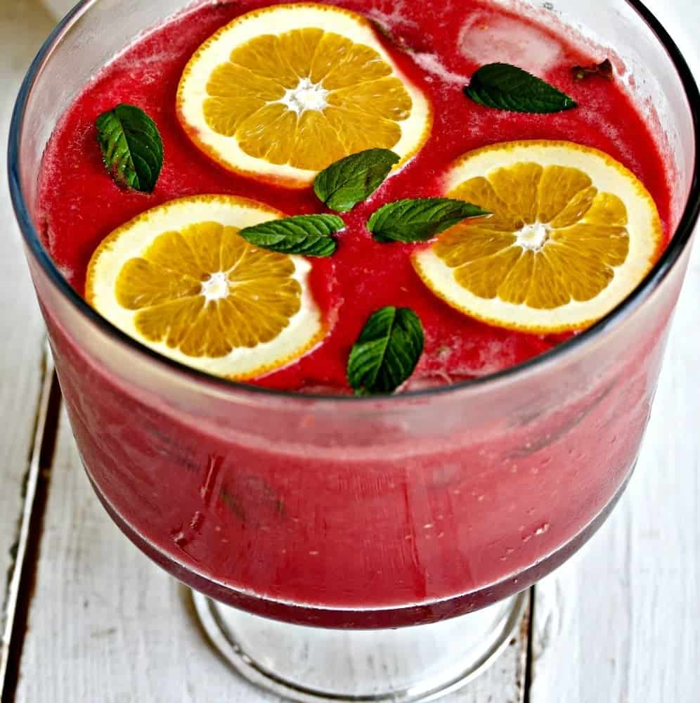 Watermelon Raspberry Party Punch