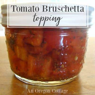 Tomato Bruschetta Topping