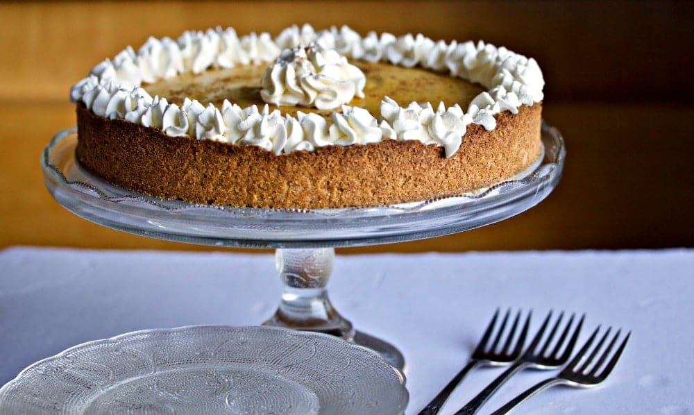 Sugar Free Pumpkin Cheesecake