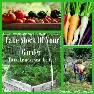 Taking Stock Of Your Garden