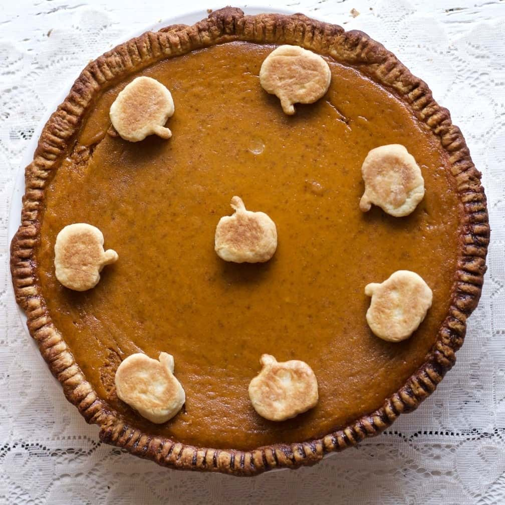 Sourdough Pumpkin Pie
