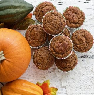 Sourdough Pumpkin muffins