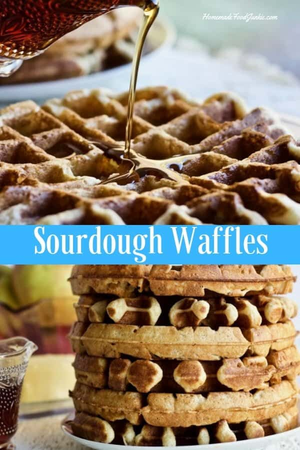 Sourdough Waffles