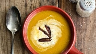 Instant Pot Butternut Pumpkin Soup