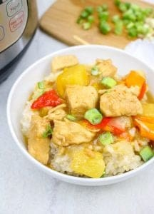 "Instant Pot Sweet Sour Chicken by A Mind ""Full"" Mom"