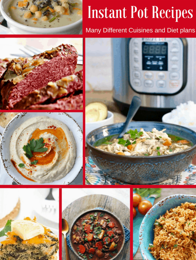 25 Healthy Instant Pot Recipes From a variety of cuisines and meal plans.