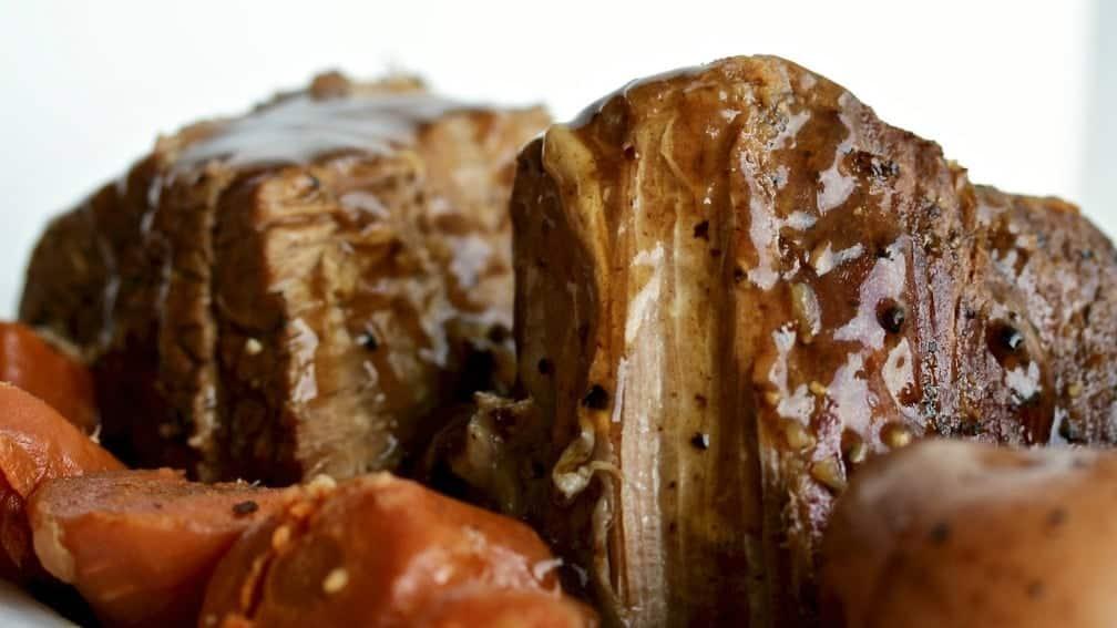 Instant Pot Roast Beef Dinner With Gravy