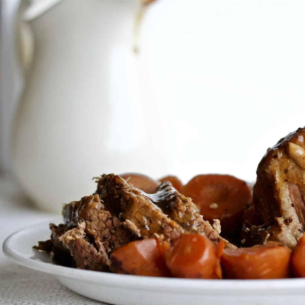 Instant Pot Roast Beef Dinner With Brown Gravy