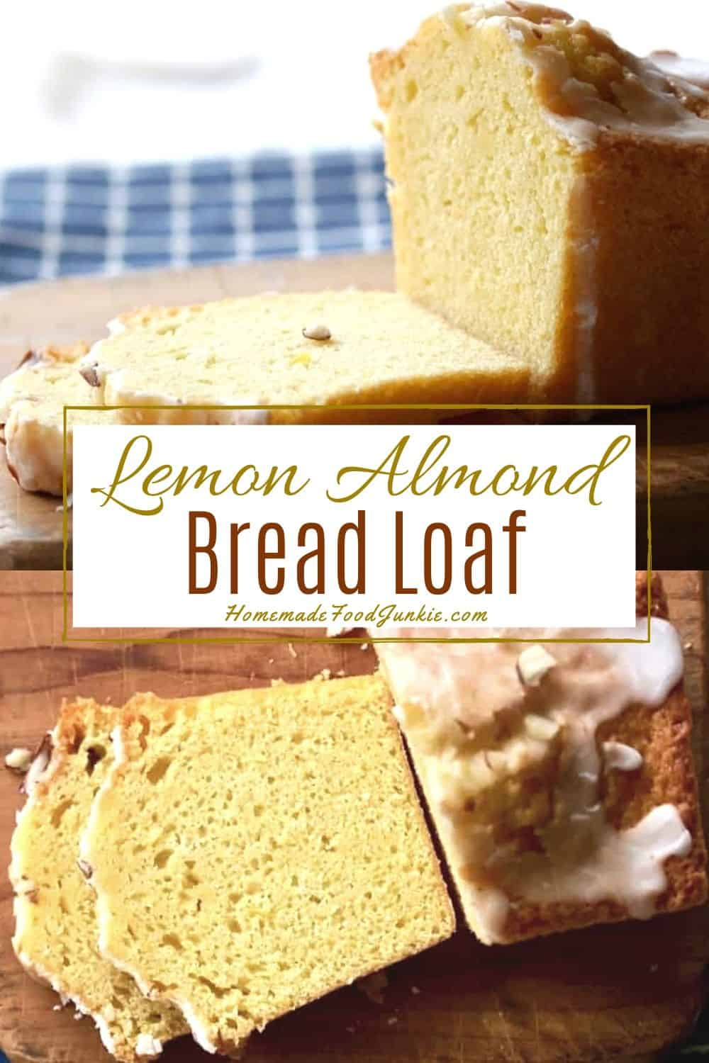 Lemon Almond Bread Loaf-pin image