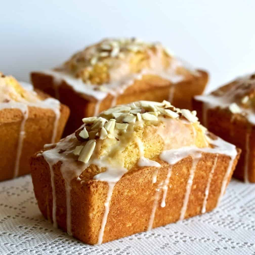 Mini Lemon almond loaf