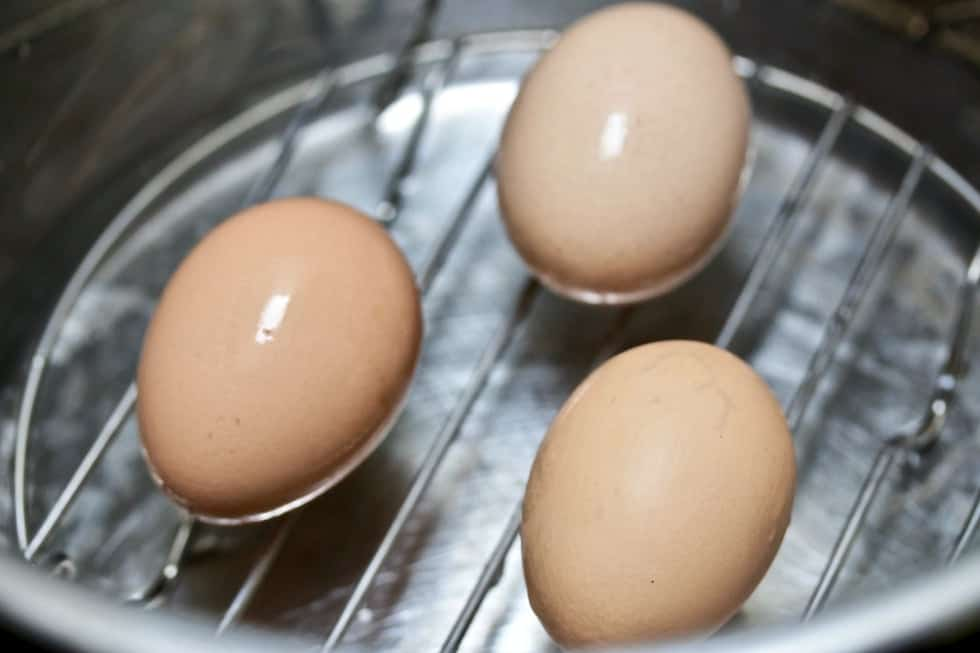Boiling Eggs in the instant pot