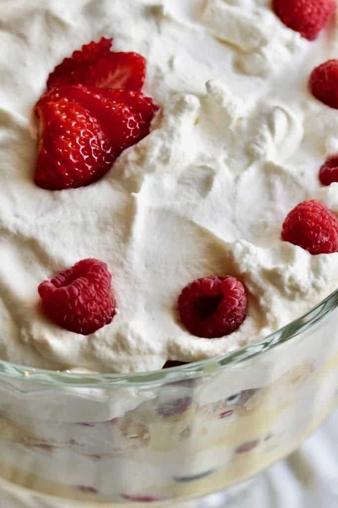 Banana Berry Trifle