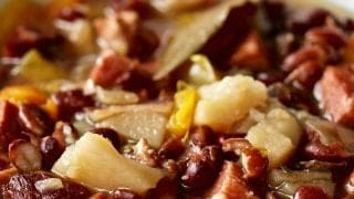 Instant Pot Hambone Bean Soup