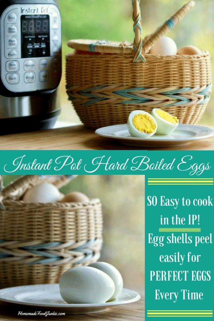Instant Pot Hard Boiled Eggs Are Easy To Make And Peel Beautifully. Learn Tips To Make Your Egg Yolks Hard Or Soft As You Prefer. #Instantpot #Instantpotrecipes #Pressurecooking #Pressurecookereggs #Eggs #Hardboiledeggs #Healthyfood #Healthydiet #Ketodietfood #Ketosnack