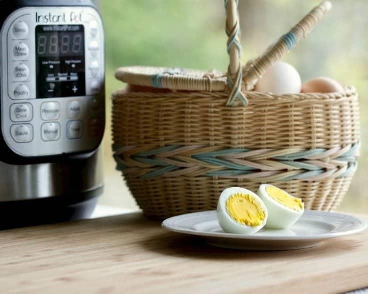 Instant Pot Hard Boiled Eggs 6