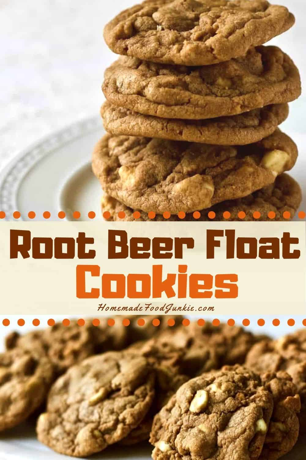 Root Beer Float Cookies-Pin Image