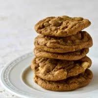 Root Beer Float Cookies-stacked