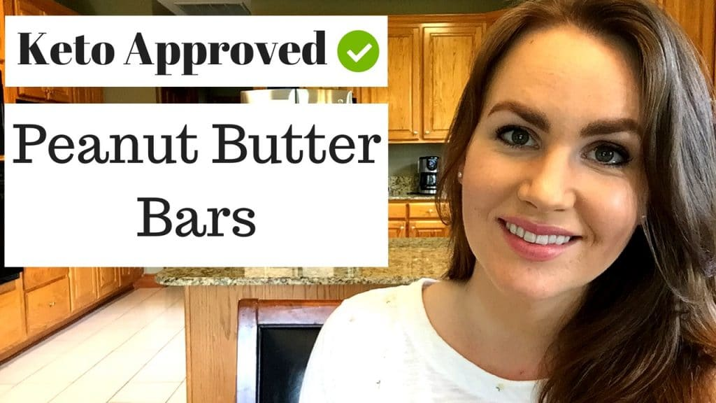 Keto Peanut Butter Bars