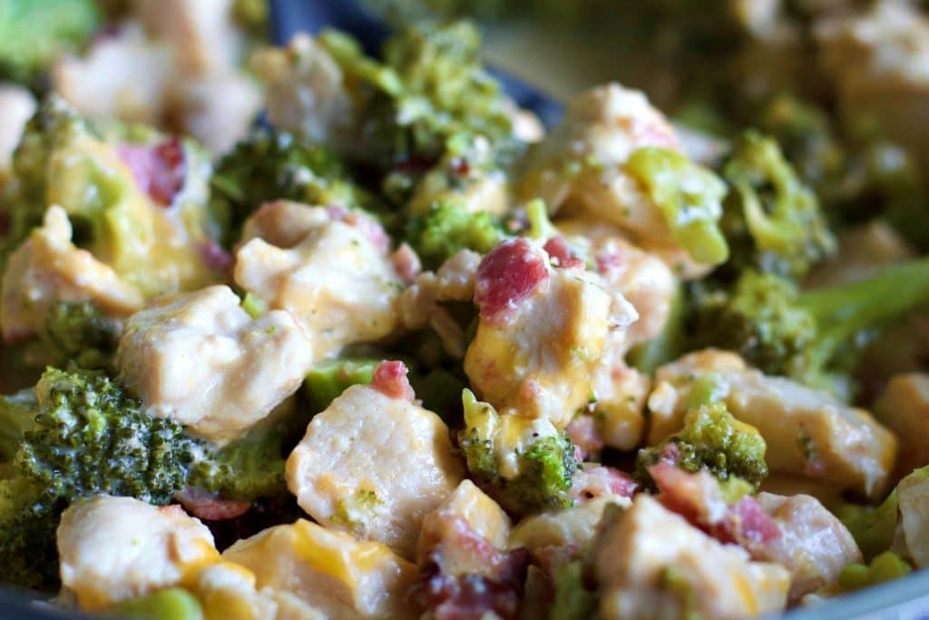 Ranch Chicken Bacon Broccoli Skillet Dinner