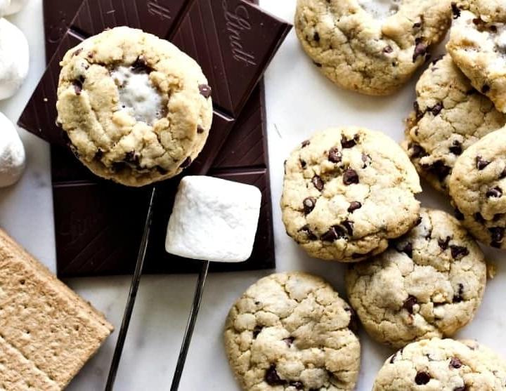 Mini S'Mores Cookies