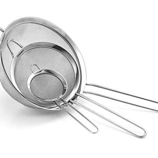 Cuisinart CTG-00-3MS Set of 3 Fine Mesh Stainless Steel Strainers