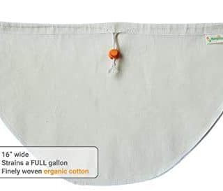 "Kleynhuis Greek Yogurt Strainer Pouch, Organic Cotton (16""X9"")"