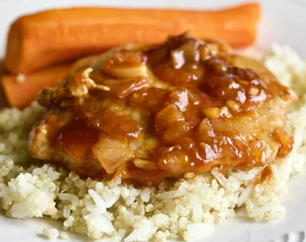 Instant Pot Pork Chop Dinner