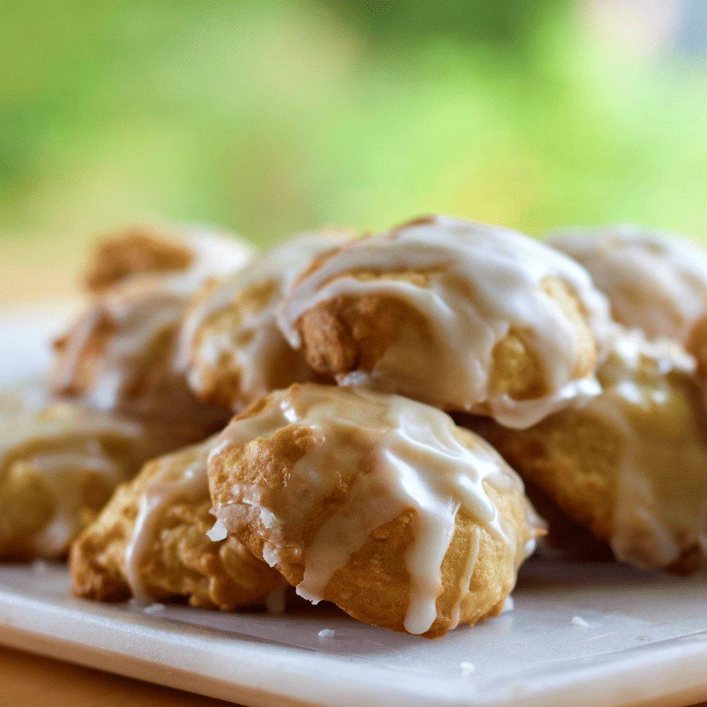Pineapple White Chocolate Macadamia Nut cookies