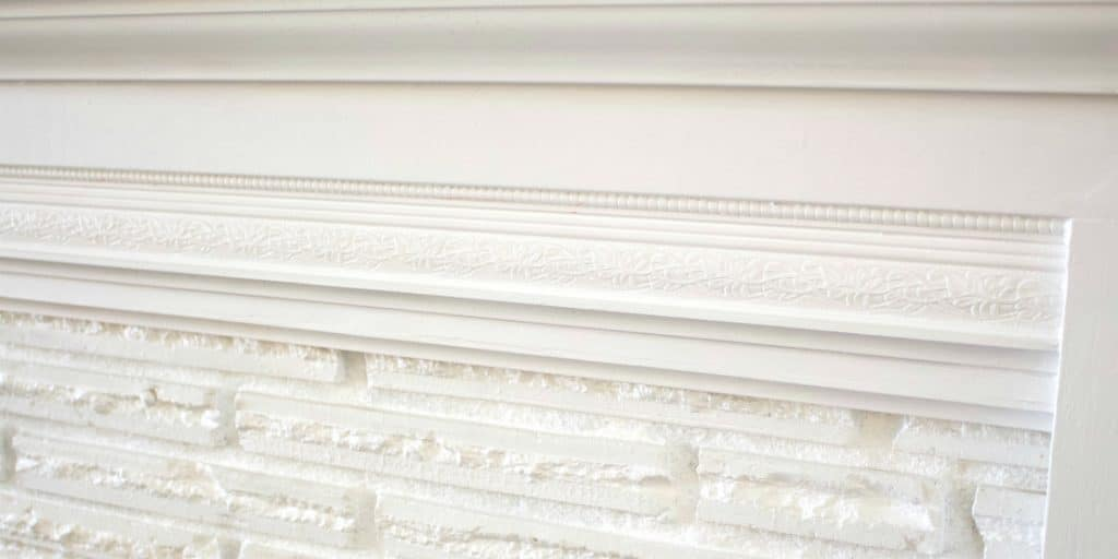 Fireplace filigree detail in our Fireplace overhaul reveal