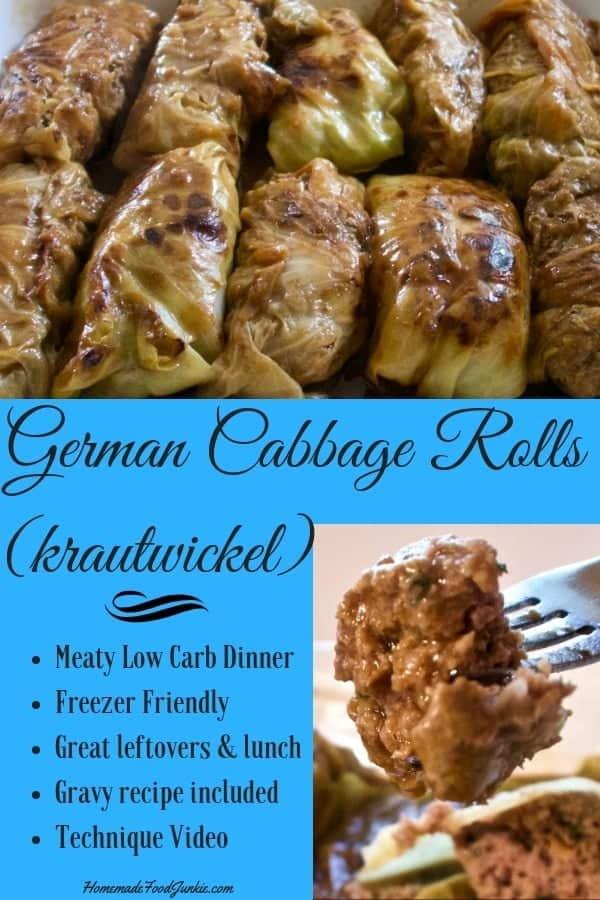 German Cabbage Rolls Krautwickel 1