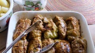 German Cabbage Rolls (krautwickel)