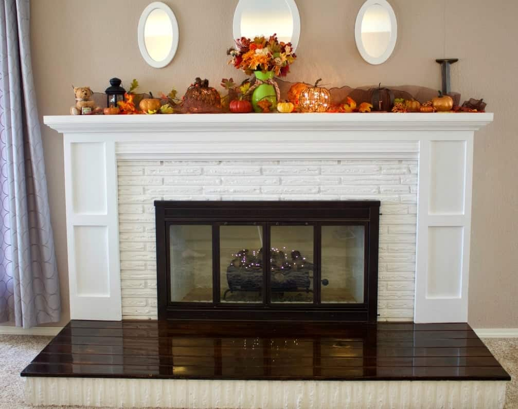 fireplace overhaul reveal