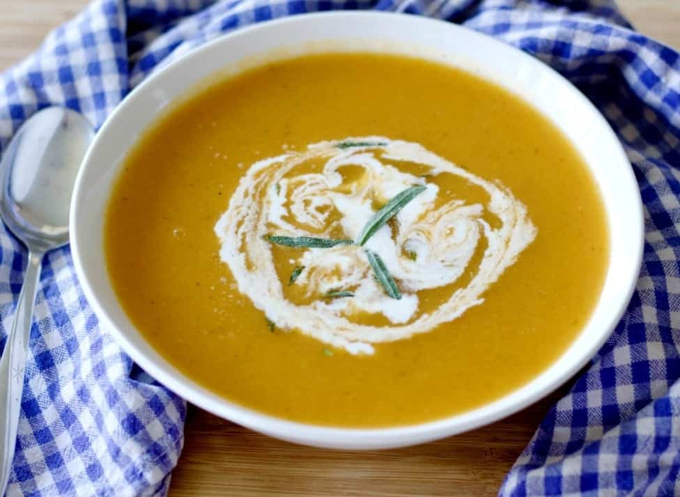 Carrot Tarragon Soup