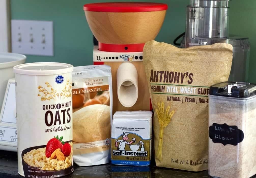 Honey Oat bread Ingredients