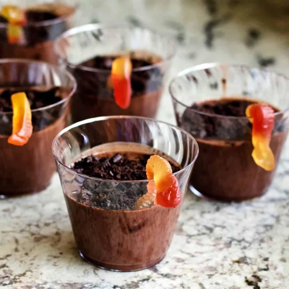 sugar free dirt cups