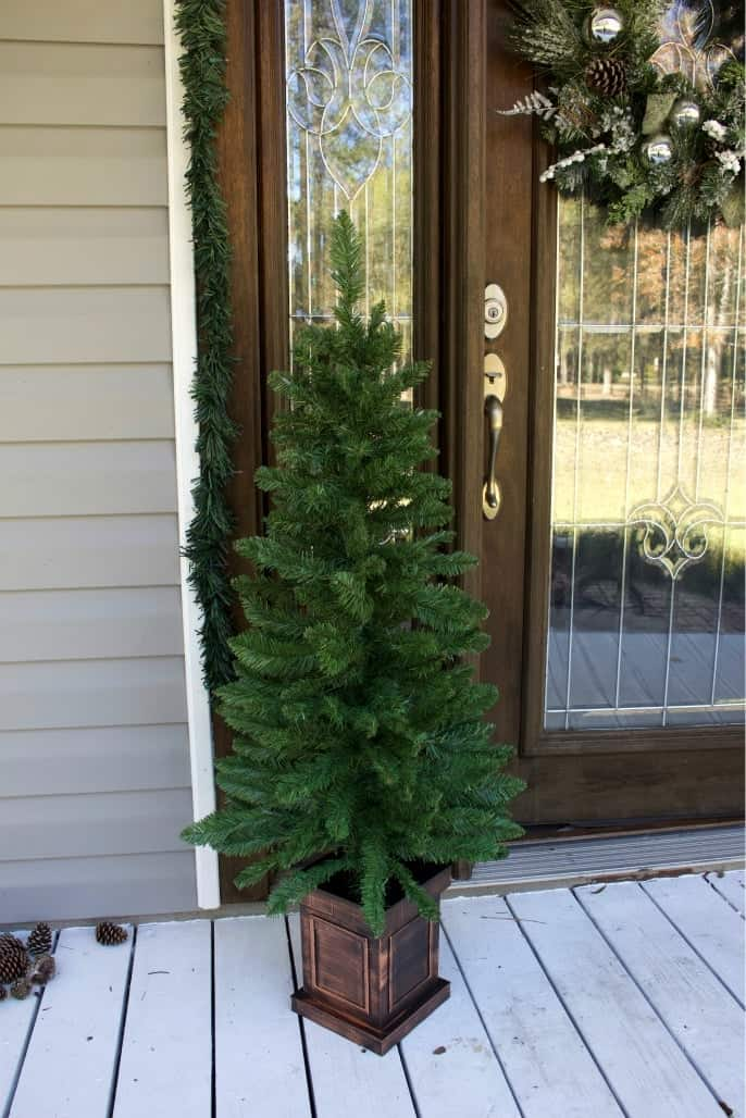 Purchased 48 inch pre lit tree