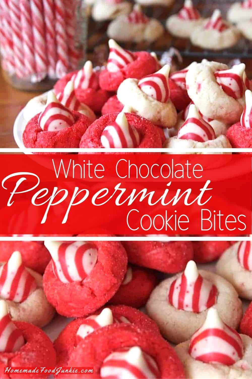 white chocolate peppermint cookies-pin image