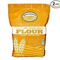 Wheat Montana Prairie Gold 100% Whole Wheat Flour (Pack Of Two &Ndash; 5 Lb. Bags)