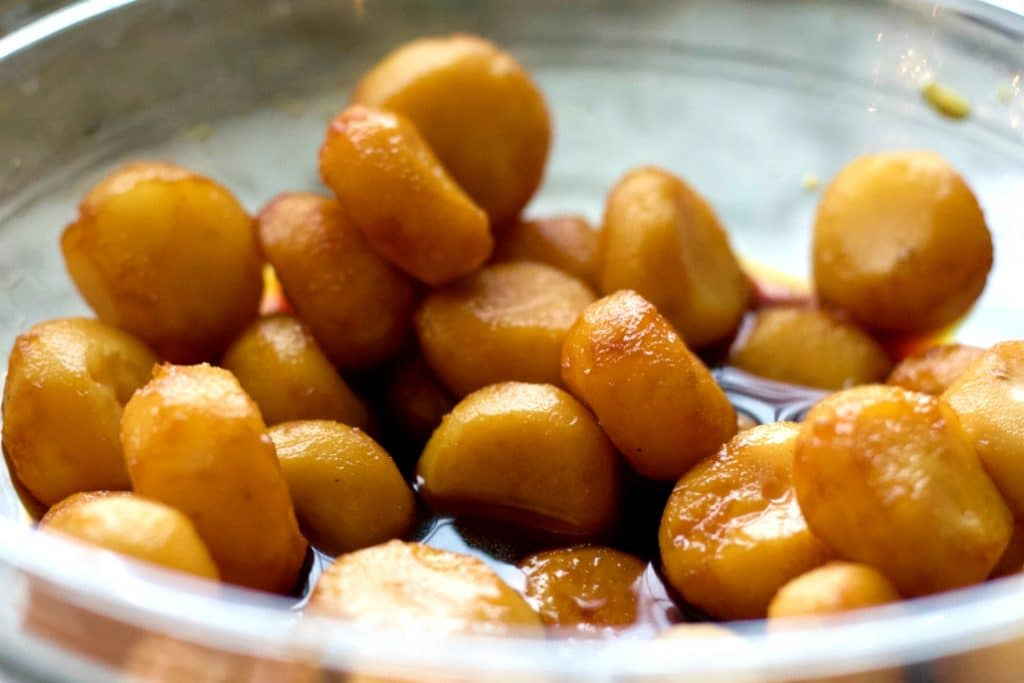 tamari soaked water chestnuts