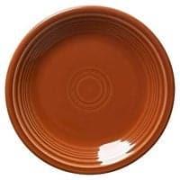 Fiesta 9-Inch Luncheon Plate, Paprika