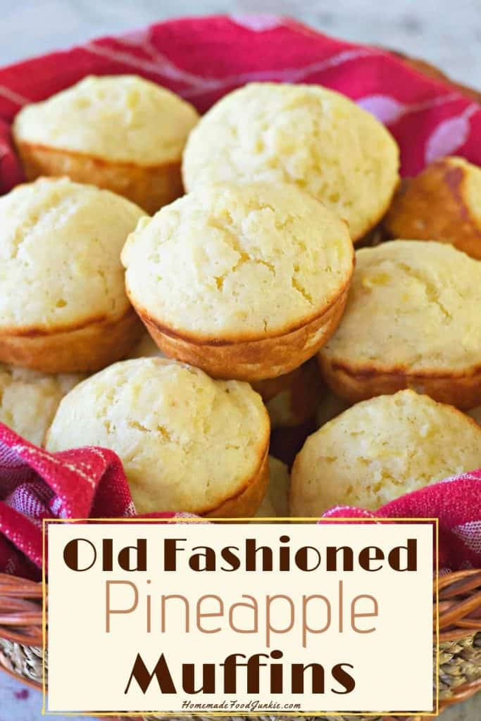Old Fashioned Pineapple Muffins-Pin Image