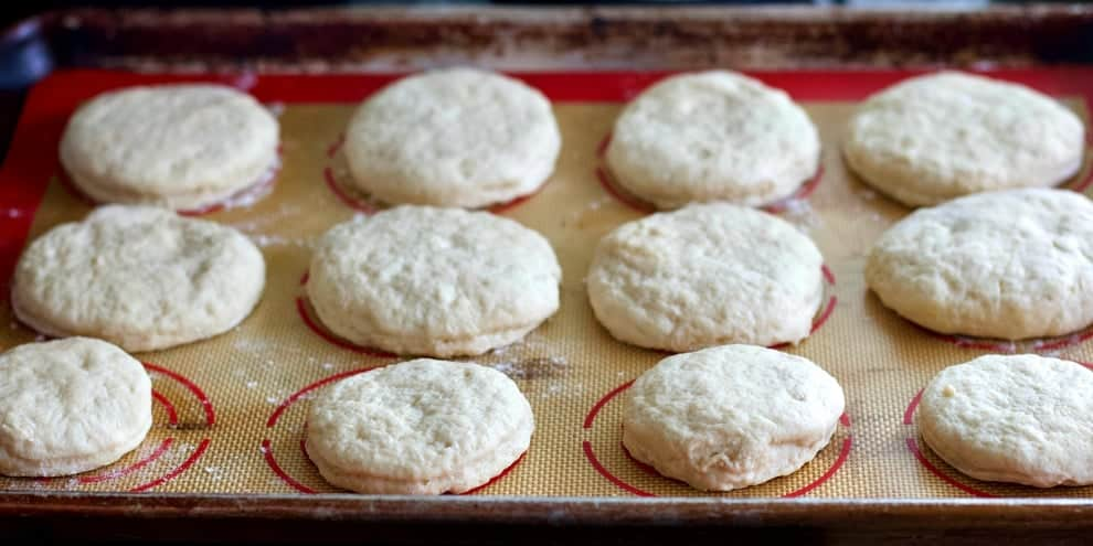English Muffin dough