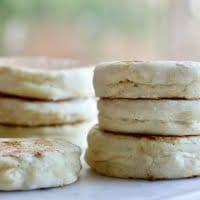 Sourdough English Muffins have a rich flavor. Use up your sourdough discard and deepen your English Muffin flavor. The texture will also be improved. So good!