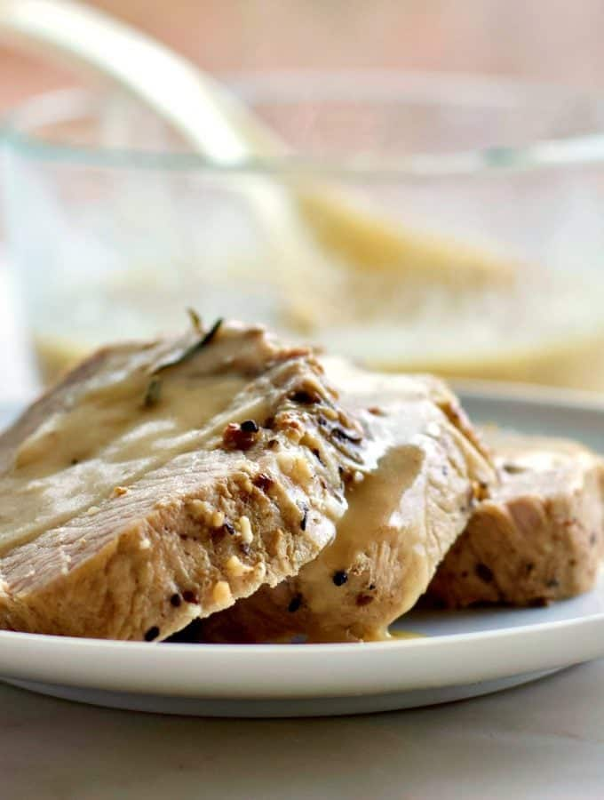 Pork Roast with Gravy