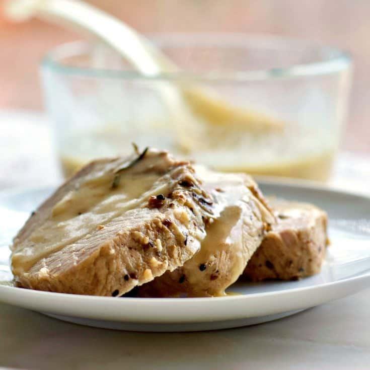 Pork Roast With Gravy 1