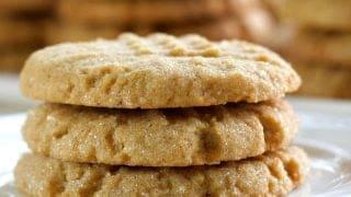 Peanut Butter cookies With Sourdough Starter