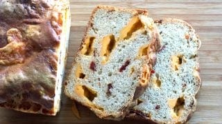 Sourdough Pepper Cheese bread
